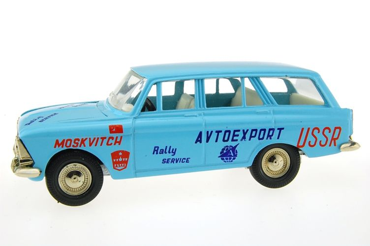 Moskvitch Scale Models