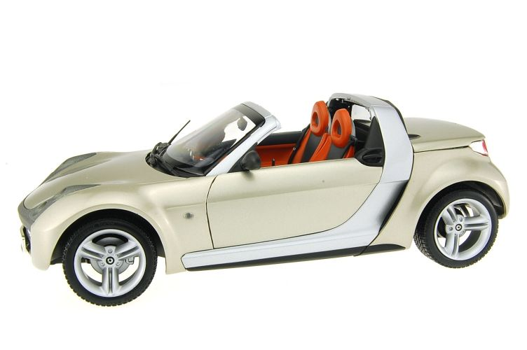 Mercedes Smart Roadster Scale Models