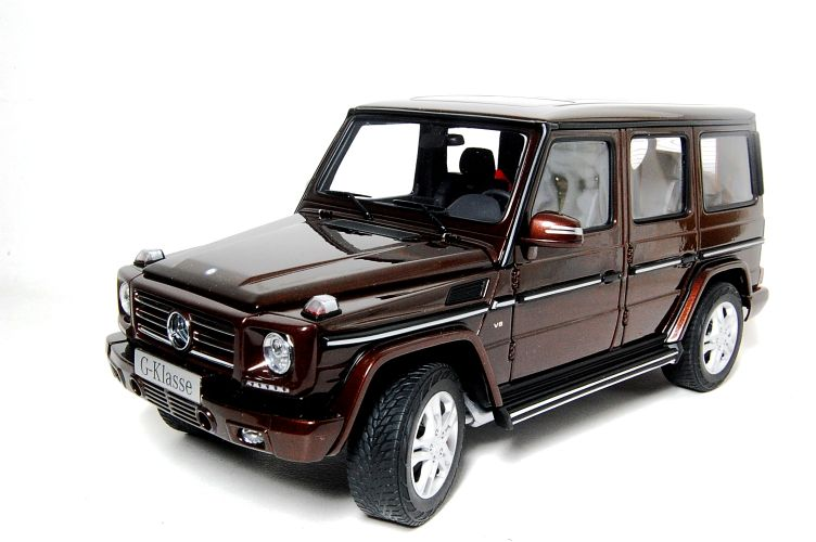 Mercedes G Class Scale Models