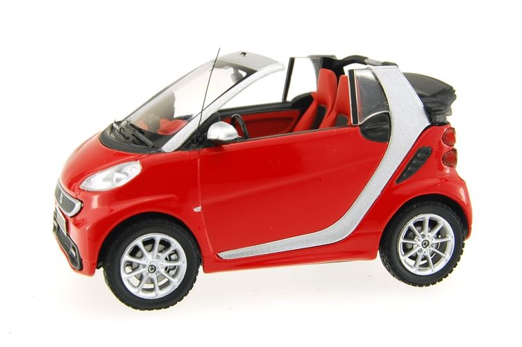 Mercedes Smart Fortwo  City Coupe Scale Models