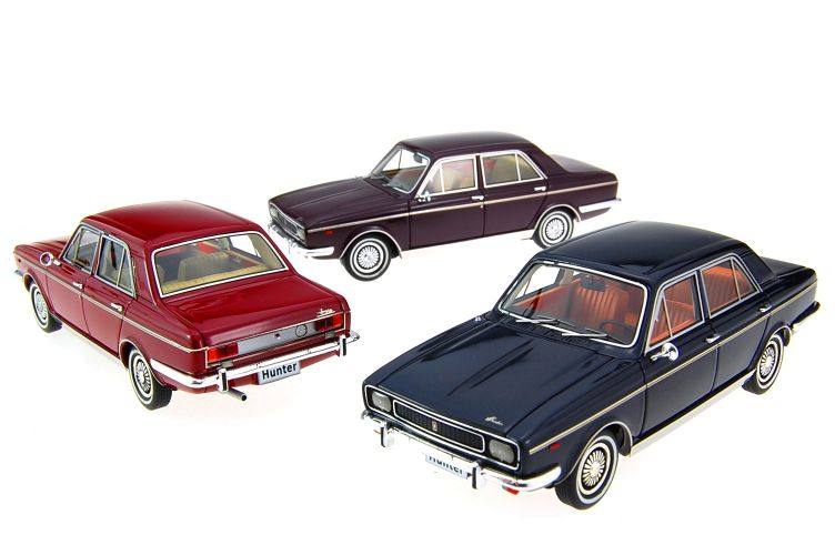 Hillman Hunter Scale Models