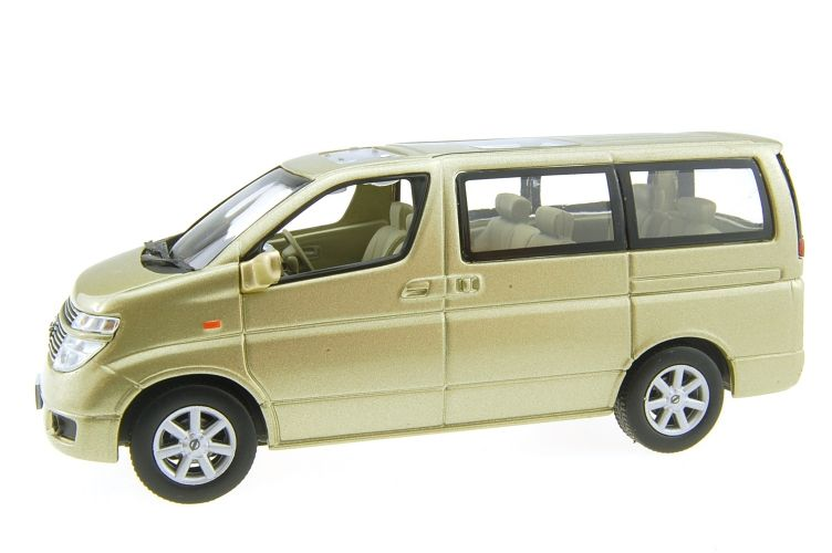 Nissan Elgrand Scale Models