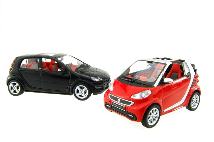 Mercedes Smart Scale Models