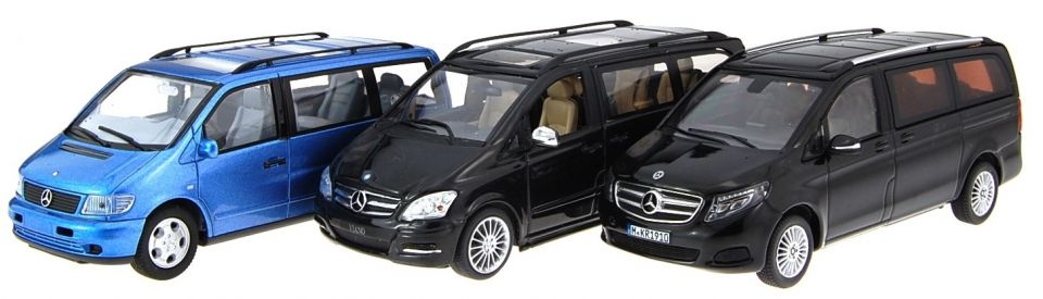 Mercedes V Class (Viano) Scale Models
